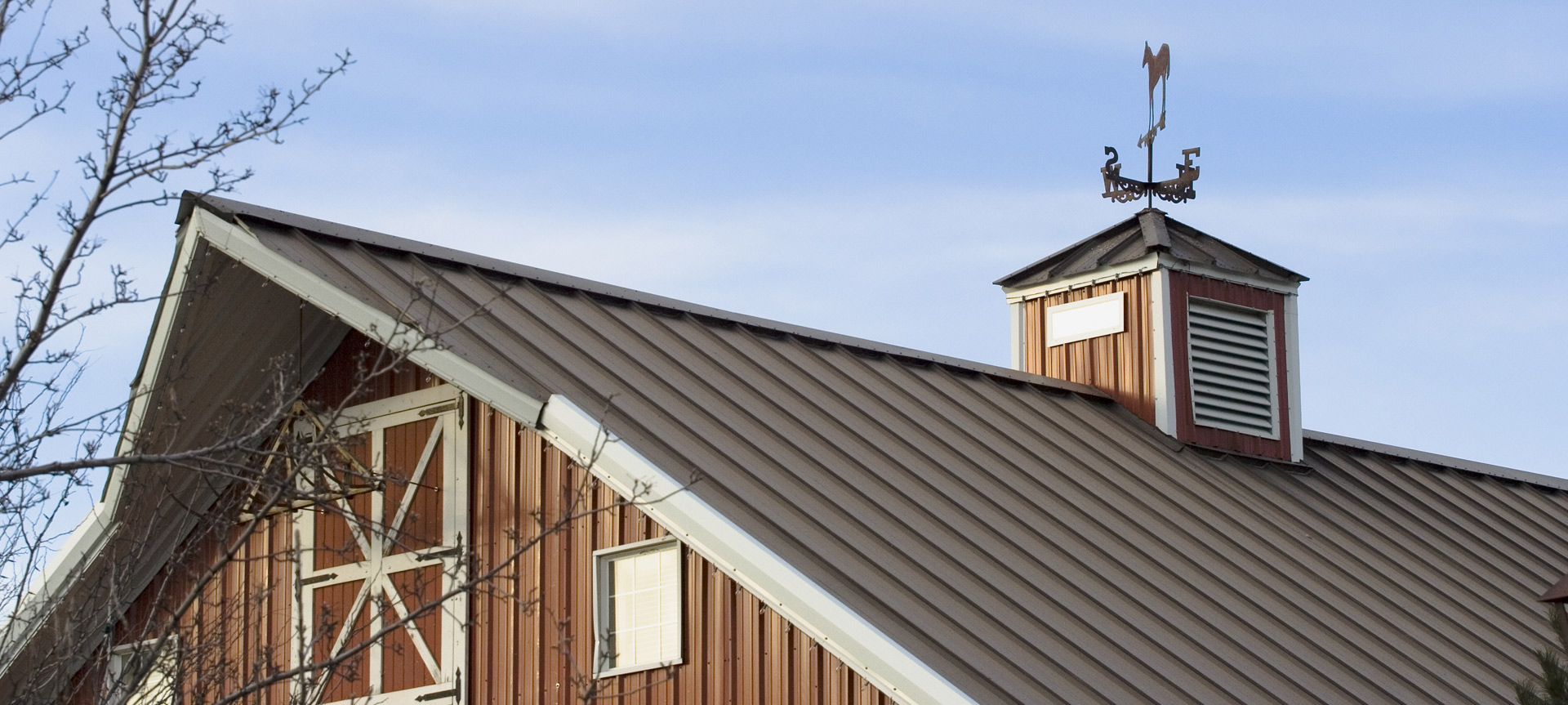 Eco friendly and efficient metal siding metal roofing for Metal barn pictures