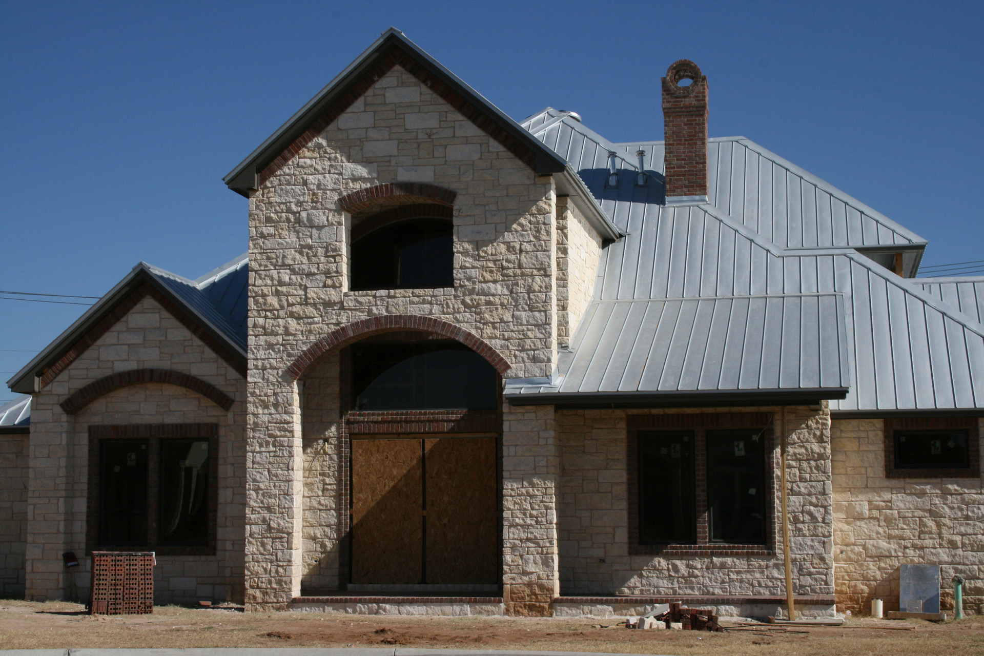 A Long Barn. Metal Roofing Provides Lasting Value For Commercial,  Agricultural And Residential Customers.